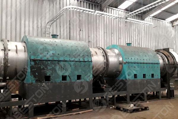 Beston Sawdust Charcoal Making Machines in Chile