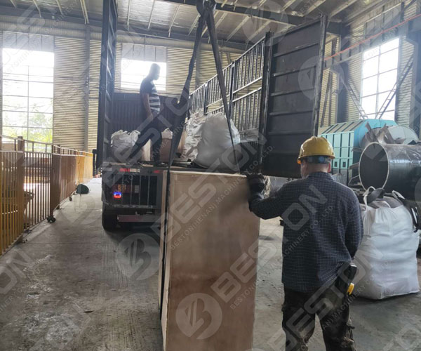 Plastic Pyrolysis Plant to Ukraine