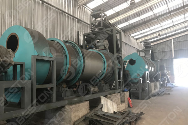 Beston Sawdust Charcoal Making Machines Installed in Chile