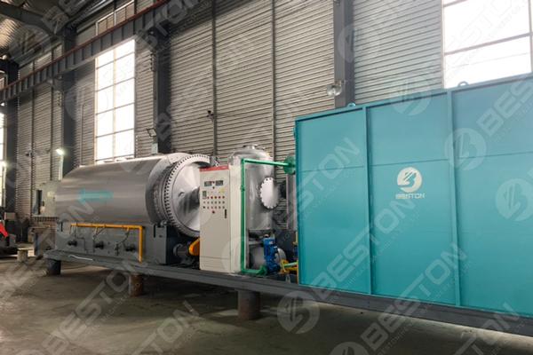 BLJ-3 Portable Tire Pyrolysis Plant Shipped to Paraguay