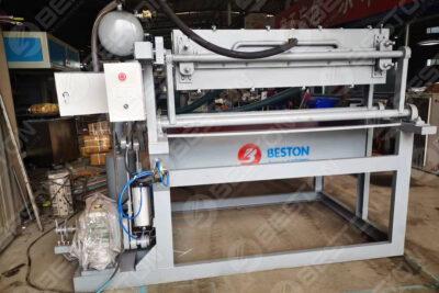 BTF1-4 Máquina para fabricar bandejas de huevos enviada a Bangladesh