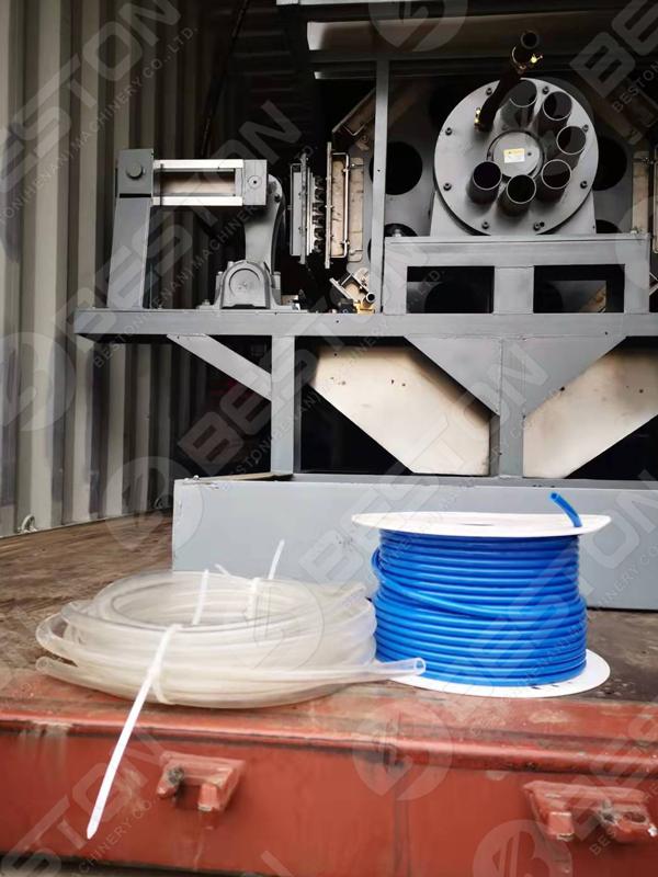 Beston Egg Tray Maker Machine to Senegal