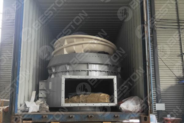 Biomass Charcoal Making Machine to Cameroon