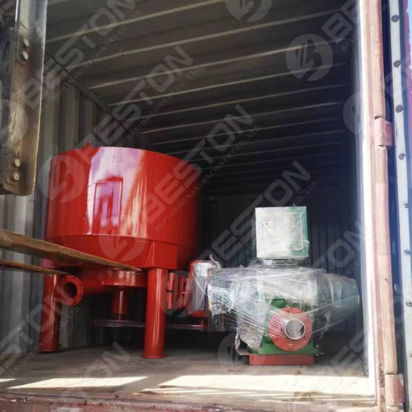 Egg Tray Equipment to Bangladesh