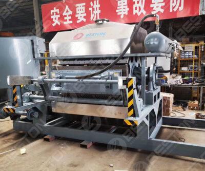 Machine de fabrication de plateaux à oeufs au Sénégal