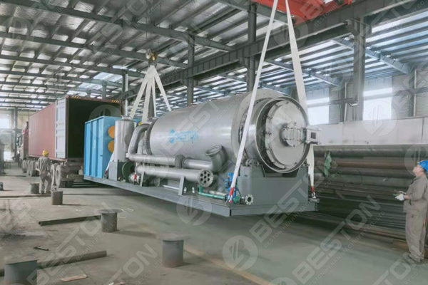 Skid-Mounted Pyrolysis Plant to Paraguay