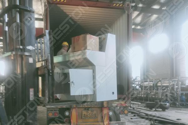 Waste Plastic Pyrolysis Plant Shipped to Ukraine