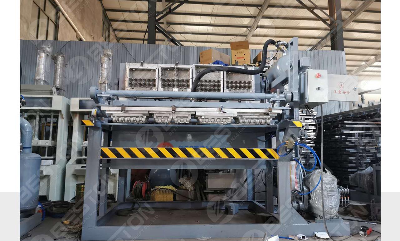 Machine de fabrication de cartons à oeufs à vendre