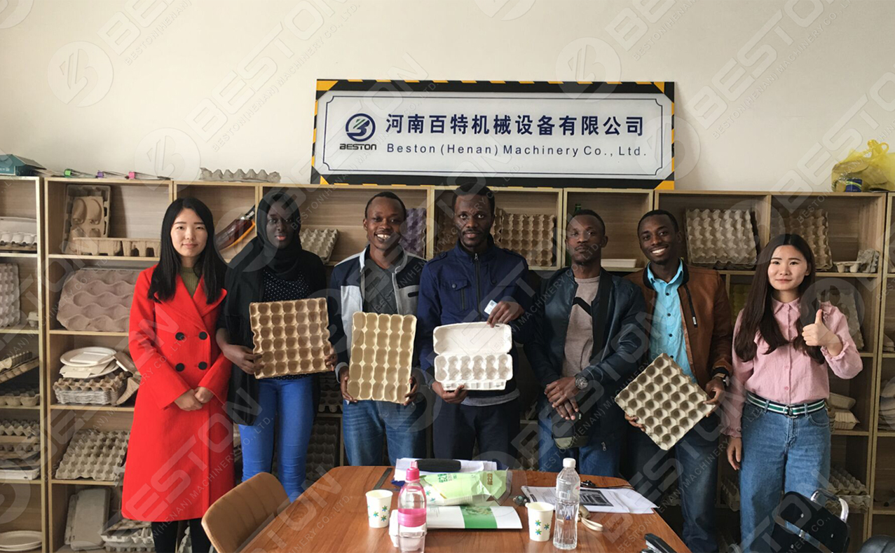Machine de fabrication de cartons à œufs en Chine