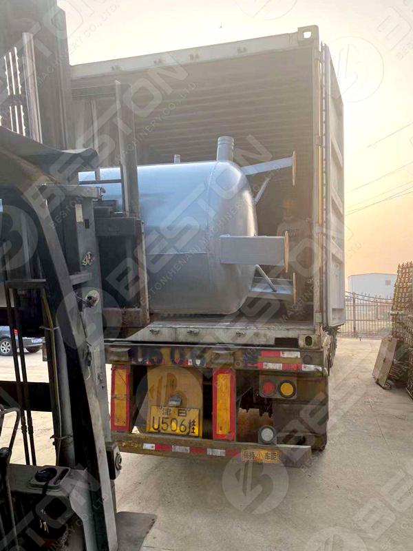 Beston BTF4-4 Egg Tray Machine to Zambia