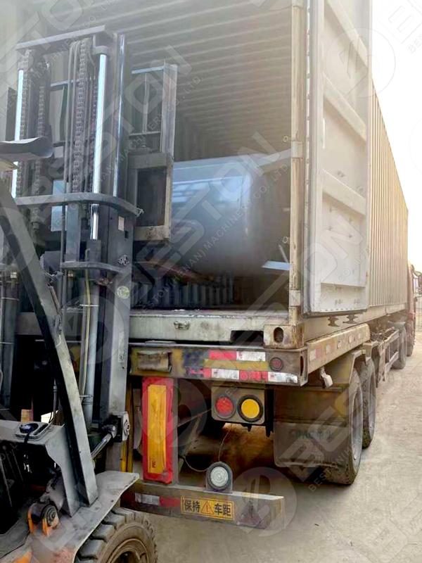 Beston Egg Tray Making Machine to Zambia