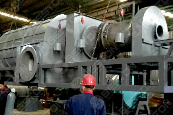 Biomass Charcoal Making Machine Shipped to Mexico