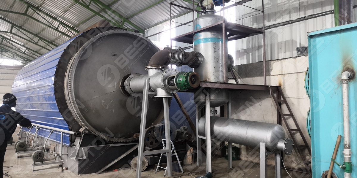 Installation of Pyrolysis Reactor for Sale