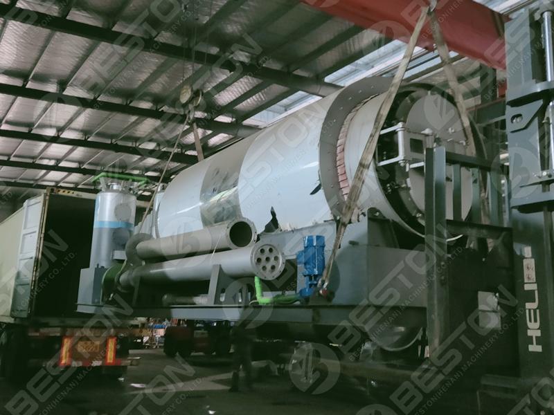 Pyrolysis Plant Reactor