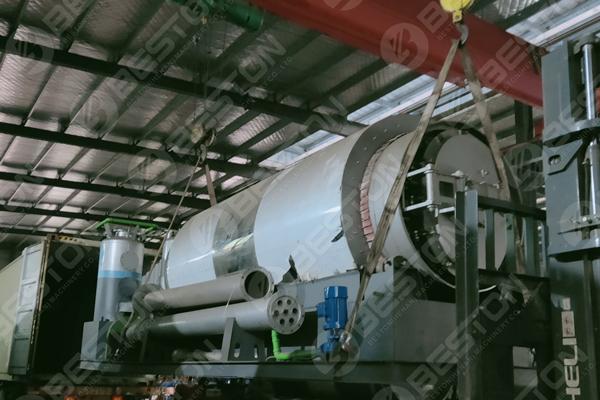 Skid-Mounted Pyrolysis Reactor to Spain